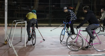 pTwenty years ago, a group of bike messengers got together in Cal Anderson Park in Seattle and started goofing around with an absurd version of polo played on bicycles. For those who don't know,...