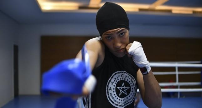 Moroccan boxer Khadija Mardi