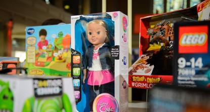 pGerman regulators have banned an internet-connected doll called My Friend Cayla that can chat with children, warning Friday that it was a de facto spying device./p  pParents were urged to...