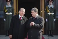 Ukrainian President Poroshenko thanks Erdoğan for 'unwavering support' in phone call