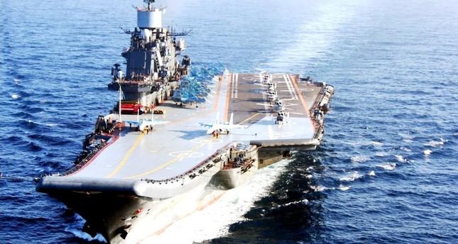 روسيا تعزز وجودها العسكري قبالة سواحل سوريا ليصبح الأضخم منذ2011