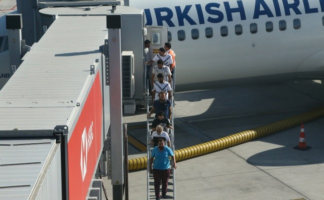 Turkish sailors kidnapped in Nigeria arrive in Turkey after release
