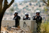 Israeli oppression leaves 4 students wounded as police use real bullets