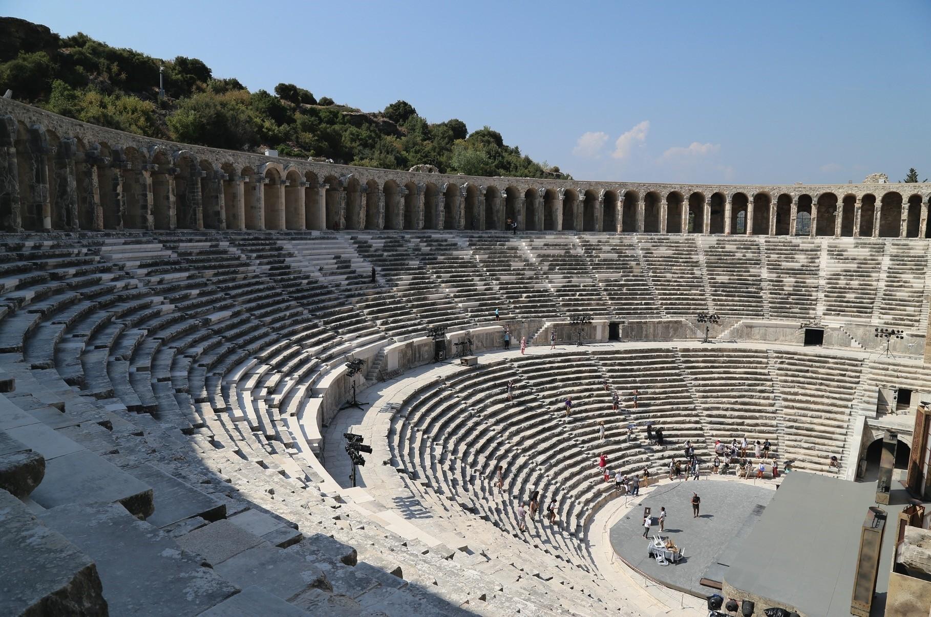 Ancient Aspendos theater