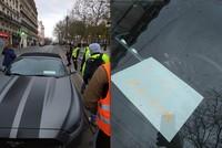 'I love Macron' note left inside car ridiculed on social media