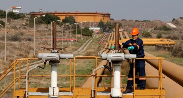 خط الغاز الواصل إلى ميناء جيهان التركي (رويترز)