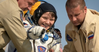 3 astronauts back on Earth after 6 months in space