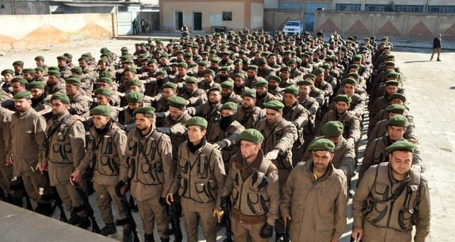 Syrian police receive training in Turkey to serve in areas liberated from terrorists