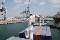 Turkey's humanitarian aid ship reaches Ashdod port with 11,000 tons of relief supplies for Gaza