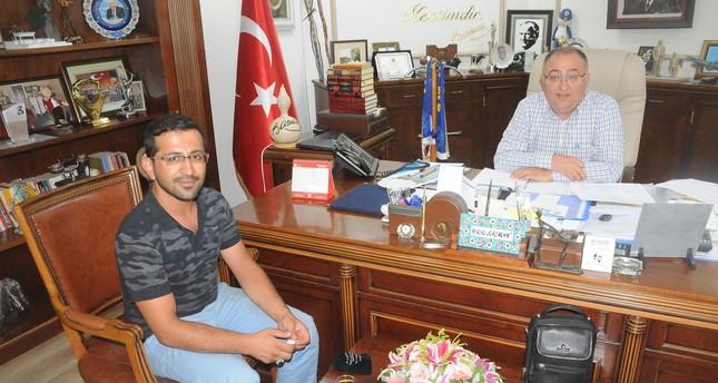 تكريم مواطن تركي عثر على 20 ألف ليرة وأعادها إلى صاحبها