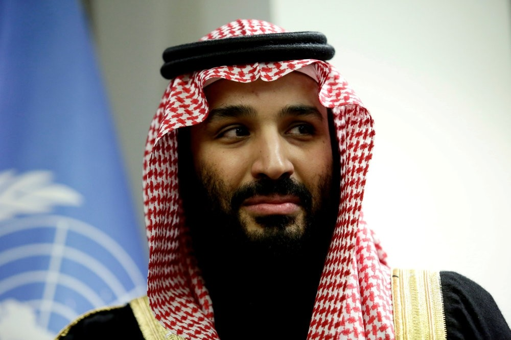 Saudi Arabia's Crown Prince Mohammed bin Salman, who is accused of being the mastermind behind the killing of Jamal Khashoggi, at the United Nations, New York, March 27.