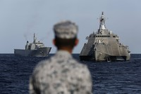 US Navy ships arrive in Qatar for joint drills amid Gulf crisis