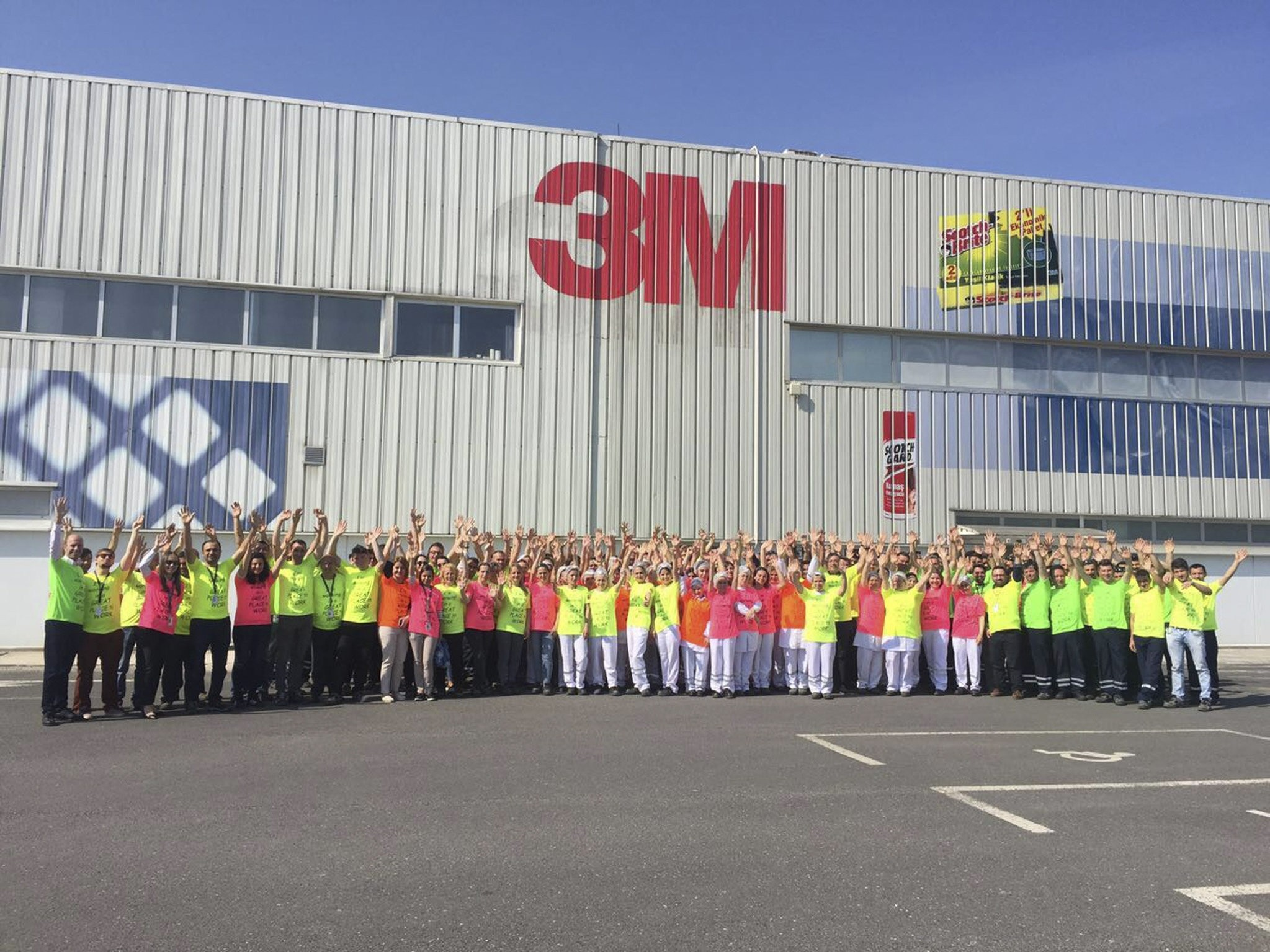 3M Turkey was awarded a u201cGreat Place to Worku201d in the category of companies with 500 to 2,000 employees in Turkey for 2018.