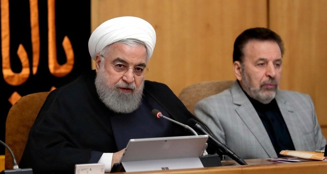 In this photo released by the office of the Iranian Presidency, President Hassan Rouhani speaks in a cabinet meeting in Tehran, Iran, Wednesday, Sept. 4, 2019. AP Photo