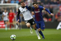 Barcelona sets new La Liga record with unbeaten run after 39 games
