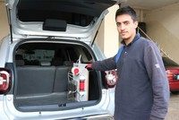 Turkish inventor builds a car working on water instead of gasoline