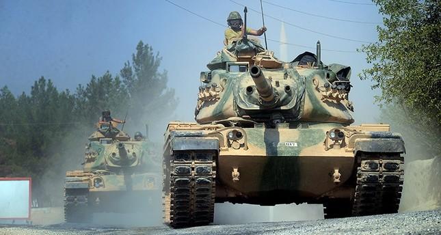 تخاذل قوات التحالف يتسبب في إعطاب دبابة تركية على يد داعش