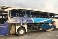 7 killed, 24 injured in bus crash in southern Turkey
