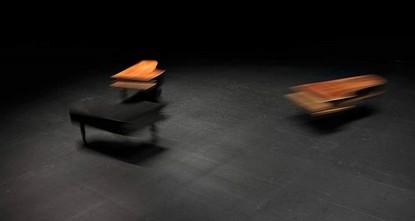 The art of dueling pianos: Céleste Boursier-Mougenot at Arter