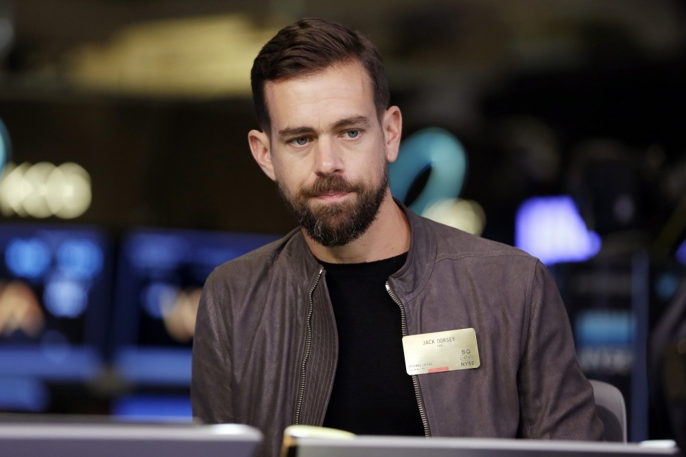 Twitter CEO Jack Dorsey is interviewed on the floor of the New York Stock Exchange. After long resisting change, he wants to revamp the ,core, of the service to fight rampant abuse and misinformation.