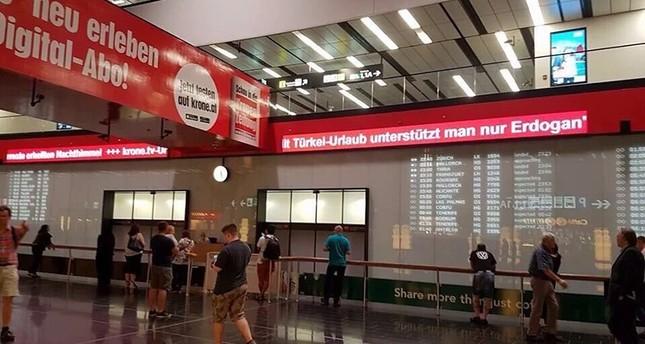 """Wiener Flughafen: """"Mit Türkei-Urlaub unterstützt man nur Erdoğan"""""""