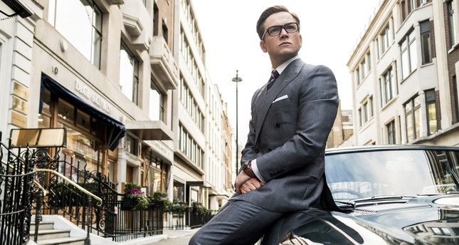 This image released by Twentieth Century Fox shows Taron Egerton in Kingsman: The Golden Circle. (AP Photo)