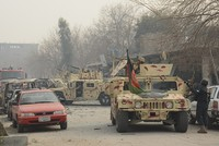 قتل أكثر من 10 جنود وأصيب آخرون على الأقل في هجوم إرهابي استهدف أكاديمية عسكرية في العاصمة الأفغانية كابول، فجر اليوم الاثنين تبنّاه تنظيم