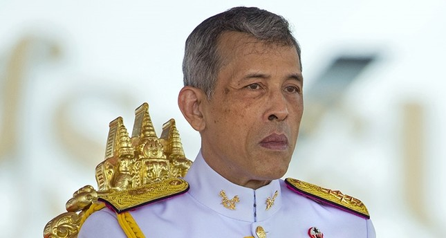 Thai King Maha Vajiralongkorn Bodindradebayavarangkun presides over the Royal Ploughing ceremony at the Royal Ground, Sanam Luang near the Grand Palace in Bangkok, Thailand, 12 May 2017. (EPA Photo)