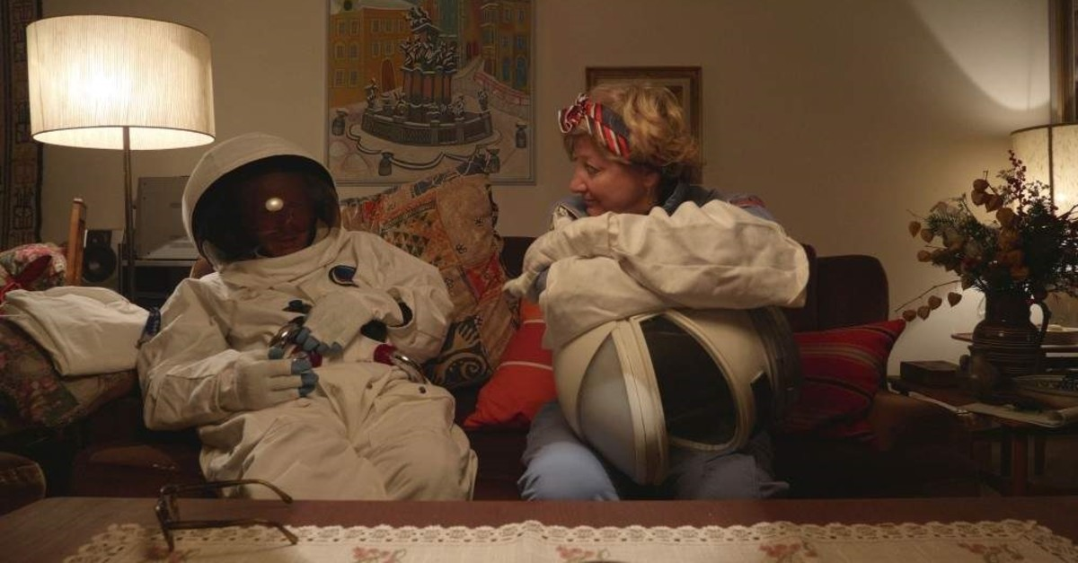 A still from ,A Ticket to the Moon.,