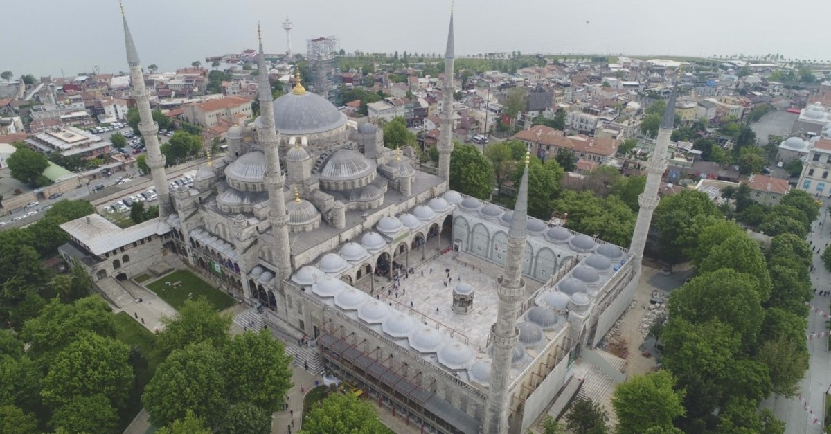 The Blue Mosque is undergoing the most comprehensive restoration in its 400-year history.
