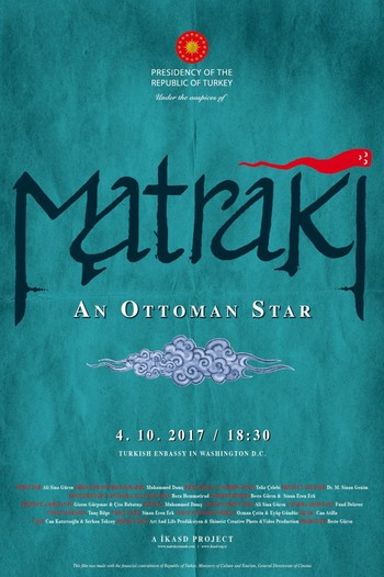 """""""Matraki, An Ottoman Star,"""" a documentary prepared for the project, was shown in Washington for the first time yesterday."""