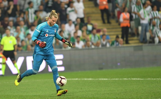 Beşiktaş's newly signed goalkeeper Loris Karius played for the first time in the Super League.