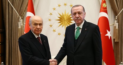 pThe leaders of the ruling Justice and Development Party (AK Party) and opposition Nationalist Movement Party (MHP) have decided to name the alliance between the two parties for the upcoming 2019...