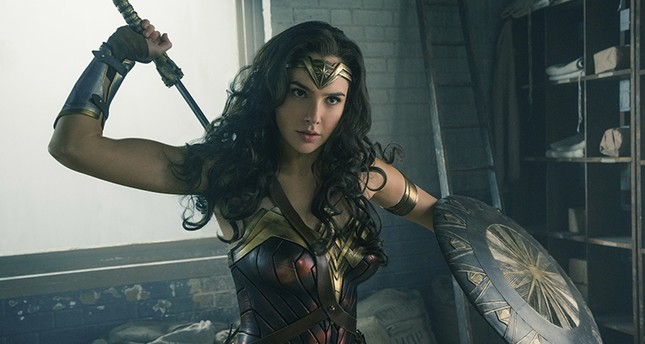 This image released by Warner Bros. Entertainment shows Gal Gadot in a scene from Wonder Woman, in theaters on June 2. (Warner Bros. Entertainment via AP)