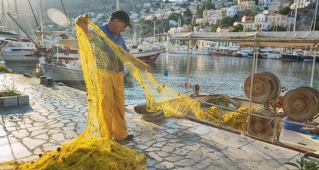 Fishing nets pose a threat to marine life when they are not pulled out of the sea.