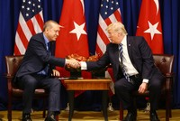 President Recep Tayyip Erdoğan, speaking to journalists Thursday in New York before he boarded a flight back to Turkey, said the Russian made S-400 missile defense system Turkey pledged to purchase...