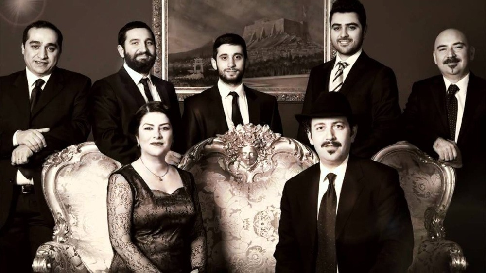 Cafe Aman will perform songs in Greek on Monday night.