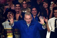 Jean-Paul Gaultier bids adieu to Paris couture runway with 'funeral' finale