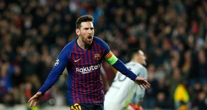 برشلونة في ربع نهائي أبطال أوروبا للمرة الـ12 تواليا بفضل ميسي
