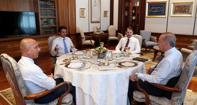 Qatari emir pledges $15 billion investment to Turkey