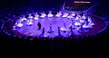Nearly 50,000 visit Konya's whirling dervishes in 2017