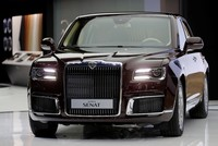 Putin's new luxurious car unveiled at Moscow auto show