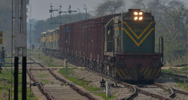 Undated photo of Samjhauta Express train from Pakistan arriving in India. (AP Photo)