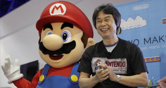 Shigeru Miyamoto, the video game mastermind behind Super Mario Bros. (AP Photo)