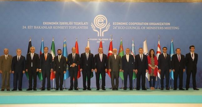 """انطلاق اجتماع وزراء """"منظمة التعاون الاقتصادي"""" في أنطاليا التركية"""