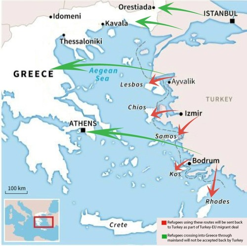 Greece may face new refugee influx with Ankara halting migrant deal