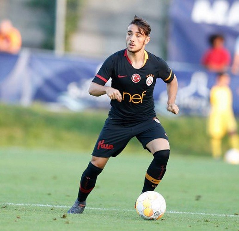 Galatasaray's young talent Yunus Akgu00fcn. (File Photo)