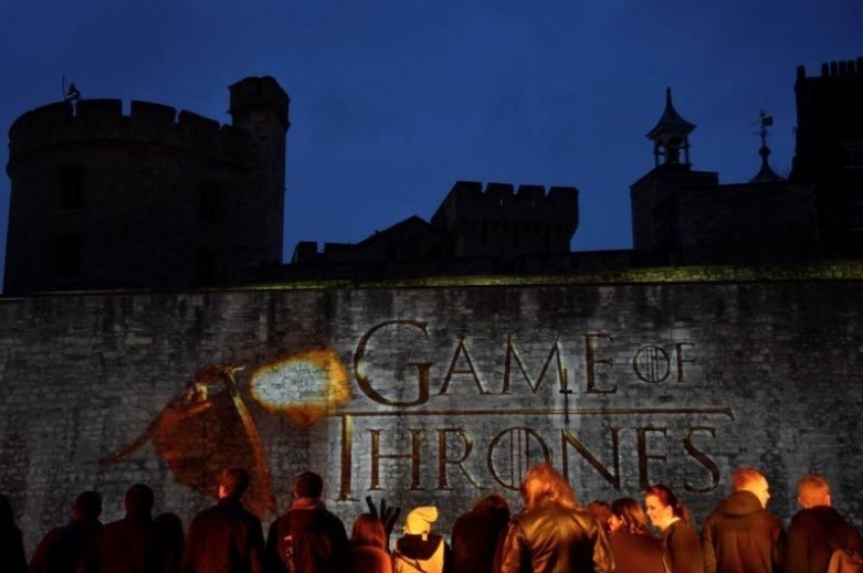 FILE PHOTO - Fans wait for guests to arrive at the world premiere of the television fantasy drama ,Game of Thrones, series 5, at The Tower of London, England on March 18, 2015. (Reuters Photo)