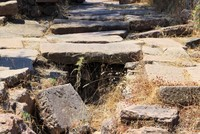 Ancient city of Aigai in western Turkey impresses with its complicated waterworks