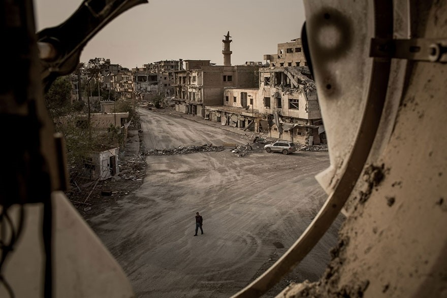 Road To Ruin, Syria - Honorable Mention, Journeys and Adventures
